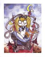 Alice vs Red Queen by Drunkfu