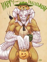 Halloween Peabody by Drunkfu