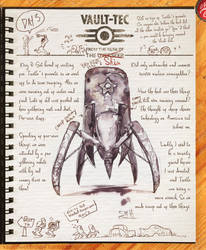Vault Dwellers Diary page 3 by Drunkfu