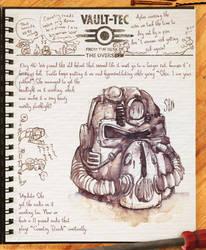 Vault Dwellers Journal 46 by Drunkfu