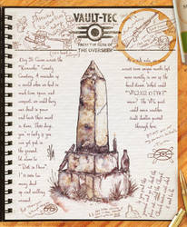 Vault Dweller Journal 51 by Drunkfu