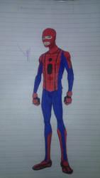 Spider-man wrestling suit (v 1.6) by wolf94fc