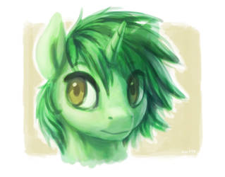 Green again (with timelapse!) by Chiramii-chan