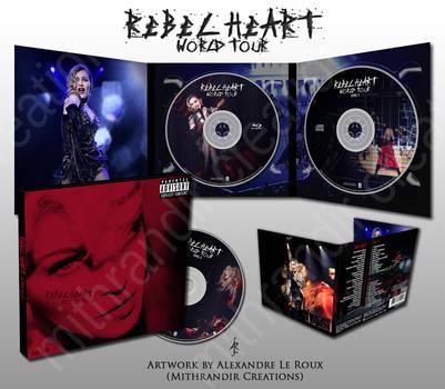Rebel Heart World Tour Digipak Design by Mithrandir29