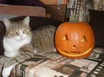 Mickey and pumpkin by Hitodenashi23