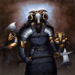 Beastmen by artofmoriarty