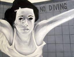 Underwater black and white by kspudw