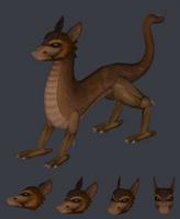 Earth Dragon by kspudw