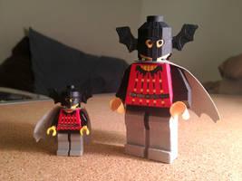 LEGO paperfigures Bat Lord by kspudw