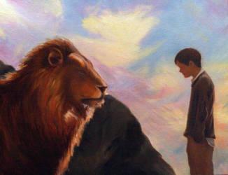 Aslan and Judas by kspudw
