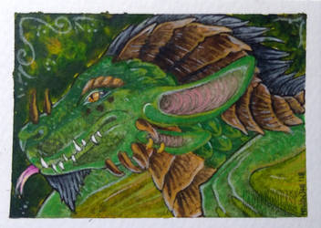 ACEO: Aurumorea by LadyFromEast