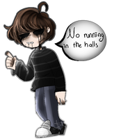 [Fanart]  Principal  Of  The Thing by 0-LazyQueen-0