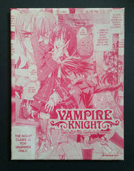 Vamire Knight Shojo Beat Manga Collage by HPComicCollages