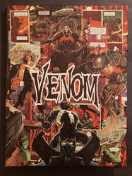 VENOM Comic Collage by HPComicCollages