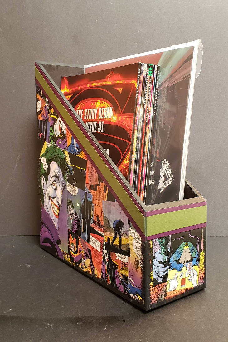 Batman: The Killing Joke Book Holder Comic Collage by HPComicCollages