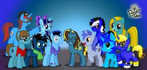 Some Brilliant Blue Unicorns by A-Bright-Idea