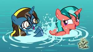 Making a Splash (Happy Bday Hayley) by A-Bright-Idea