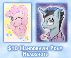 Character Headshot Commissions (OPEN) by A-Bright-Idea