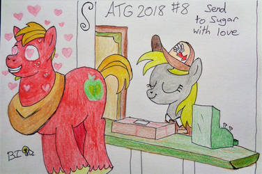 ATG 2018 Prompt 8: Send to Sugar with love by A-Bright-Idea