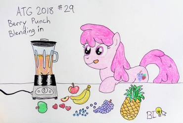 ATG 2018 Prompt 29: Berry Punch Blending in by A-Bright-Idea