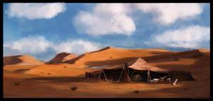 Desert by glazyrin