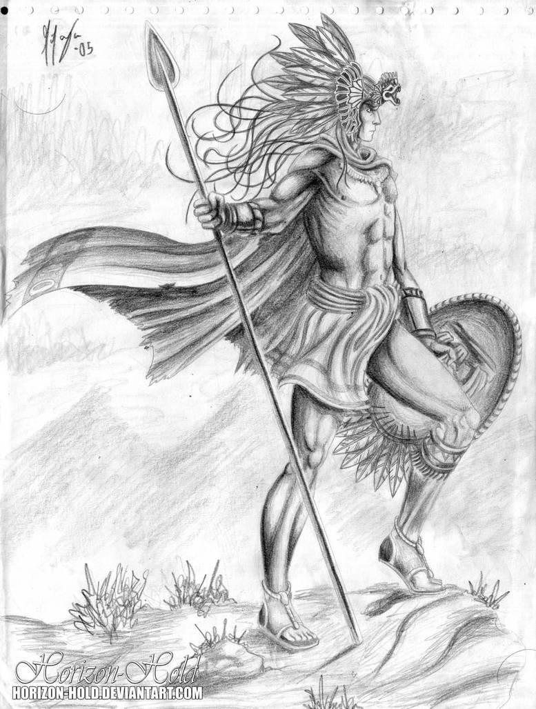 Guerreros Aztecas Dibujos Wwwtollebildcom