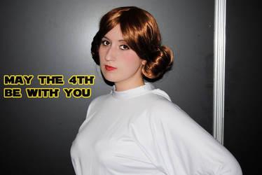 May the 4th! 2015 - Leia Organa by Tifa-Lock