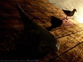 3d Iguana by bpatel