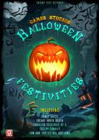 Halloween Poster by AaronGriffinArt