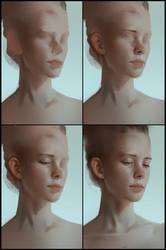 Portrait practice 11 process by AaronGriffinArt