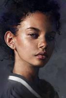 Marina Nery Study by AaronGriffinArt