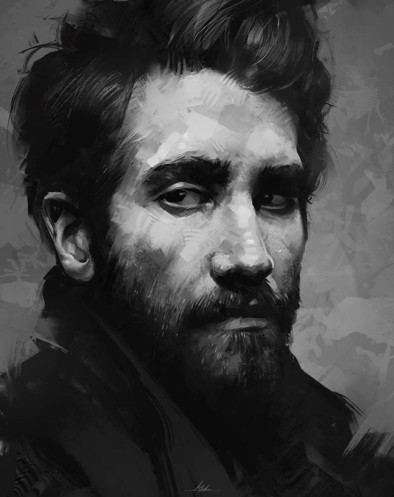 Jake Gyllenhaal by AaronGriffinArt