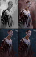 Character - Process by AaronGriffinArt