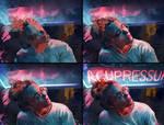 Neon - process by AaronGriffinArt