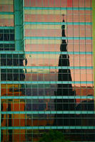 Montreal reflection by rustymermaid