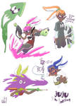 Sketch : Juju the Inkling ! by Jupony