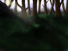 Free Forest background by Whiteligtning