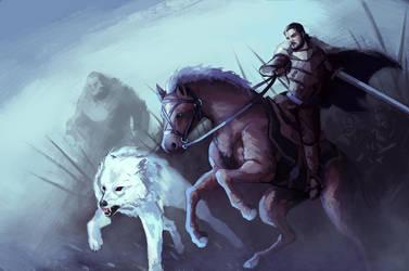 Battle of the Bastards by DiegoVila