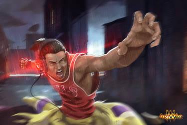 Jamal illustration by DiegoVila