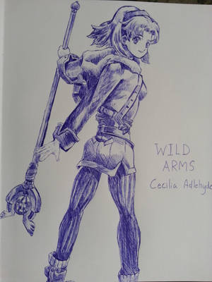 Wild Arms Alter Code F - Cecilia Adlehyde by pikapika212