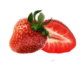 Strawberries... by denfo