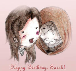 Happy Birthday, Sarah by missyumibelli