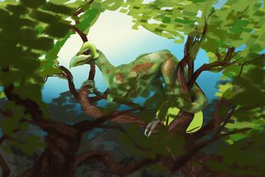 In the tree tops by MeggaSweetSmiles