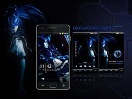 Galaxy S2 BlackRockShooter by garicosDesign