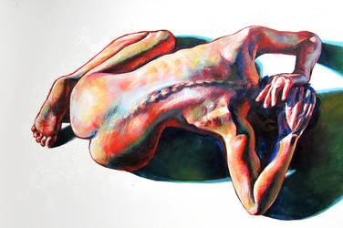 Figure Painting 2 by Cooooookies