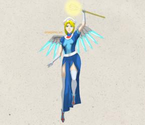 0287 - Overwatch Mercy by negi5845826