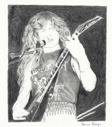 Dave Mustaine by icedOne