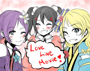Love Live Movie today! by angiecake66