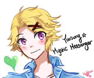 Yoosung by angiecake66