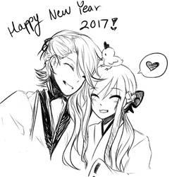 Happy New Year by angiecake66